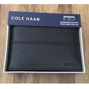 Cole Haan Accessories - NWT Cole Haan Leather Passcase Wallet